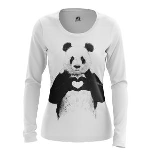 Женский Лонгслив Panda - купить в teestore