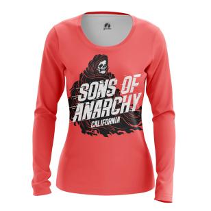 Женский Лонгслив Sons of Anarchy - купить в teestore