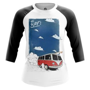 Женский Реглан 3/4 Go surf - купить в teestore