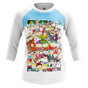 Женский Реглан 3/4 South Park - купить в teestore