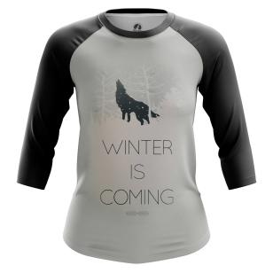 Женский Реглан 3/4 Winter is coming - купить в teestore