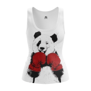 Женская Майка Медведь боксер - купить в teestore