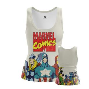 Женская Майка Marvel Comics - купить в teestore