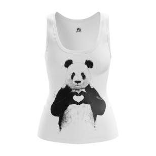 Женская Майка Panda - купить в teestore
