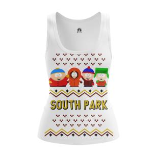 Женская Майка Южный Парк Новогодний - купить в teestore