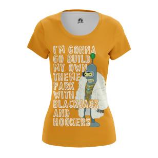 Женские Женские футболки я построю свой лунапарк.... Доставка по всей России