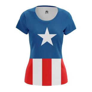 Женские Женские футболки США. Доставка по всей России