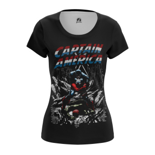 Женские Женские футболки Капитан Америка Гражданская война. Доставка по всей России