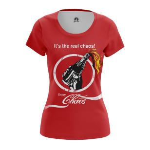Женские Женские футболки Кока кола. Доставка по всей России