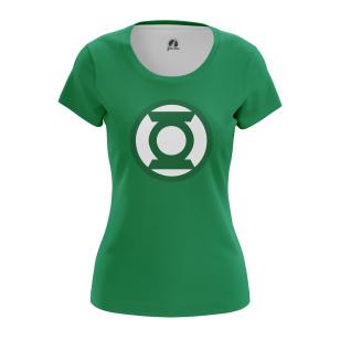 Женская Футболка Зелёный Фонарь - купить в teestore