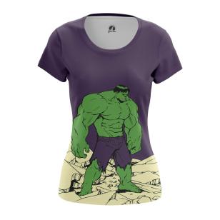 Женская Футболка Hulk - купить в teestore