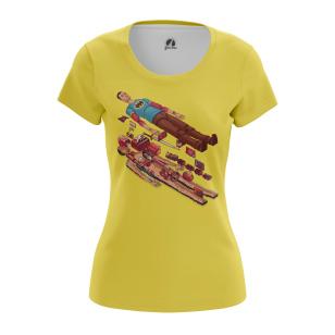 Женская Футболка Шелдон в разрезе - купить в teestore