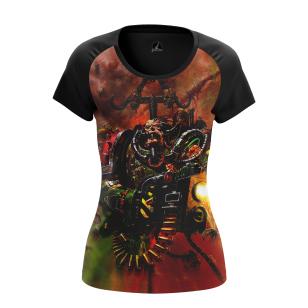 Женские Женские футболки Warhammer 40000 Fire. Доставка по всей России