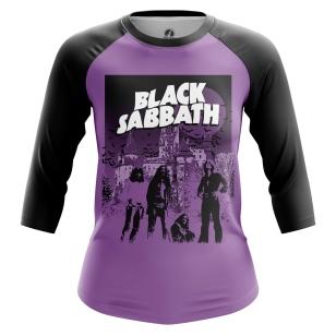 Женский Реглан 3/4 Black Sabbath - купить в teestore