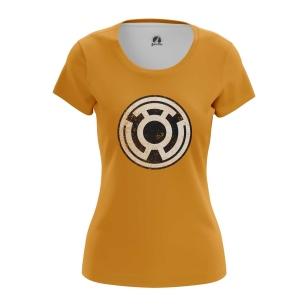Женская Футболка Sinestro Corp - купить в teestore