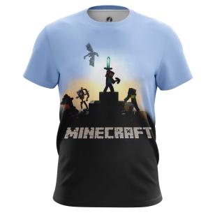 Футболка Minecraft The Movie - купить в teestore. Доставка по РФ