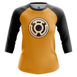 Женский Реглан 3/4 Sinestro Corp - купить в teestore