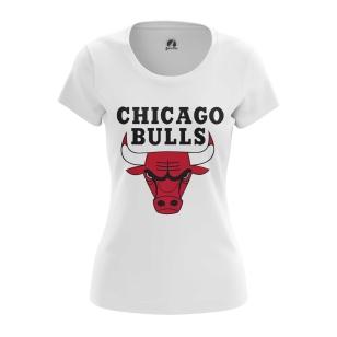 Женская Футболка Чикаго Буллз - купить в teestore