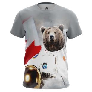 Футболка Bear Armstrong - купить в teestore. Доставка по РФ