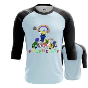Мужской Реглан 3/4 Friendship - купить в teestore