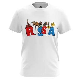 Футболка Russia - купить в teestore. Доставка по РФ