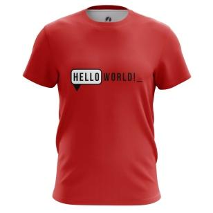 Футболка Hello - купить в teestore. Доставка по РФ