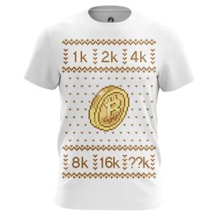 Футболка Bitcoin - купить в teestore. Доставка по РФ