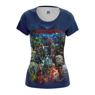 Женская Майка Iron Maiden - купить в teestore