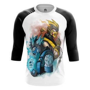 Мужской Реглан 3/4 Mortal Kombat - купить в teestore