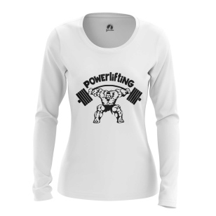 Женский Лонгслив Powerlifting - купить в teestore
