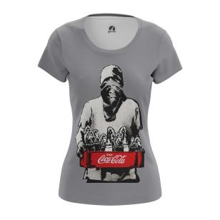 Женские Женские футболки Enjoy coca cola. Доставка по всей России