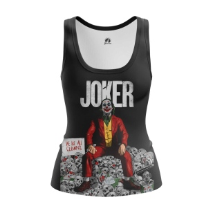 Женская Майка Joker smile - купить в teestore