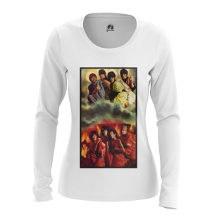 Женский Лонгслив Rolling Stones vs Beatles - купить в teestore