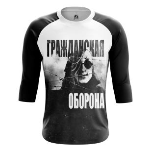 Мужской Реглан 3/4 Гражданская оборона - купить в teestore