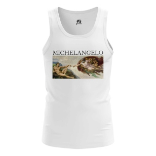 Мужская Майка Микеланджело - купить в teestore