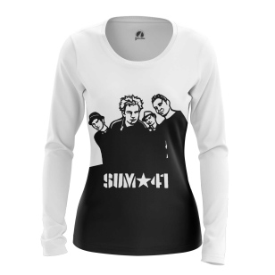 Женский Лонгслив Sum 41 vinyl - купить в teestore