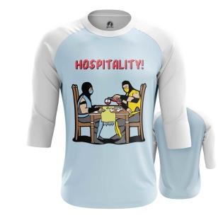 Мужской Реглан 3/4 Hospitality - купить в teestore