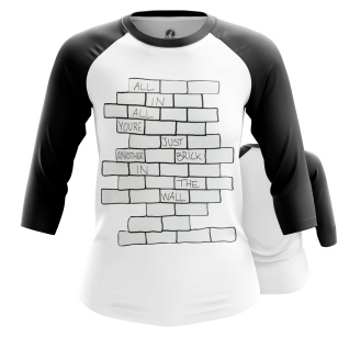 Женский Реглан 3/4 The Wall - купить в teestore
