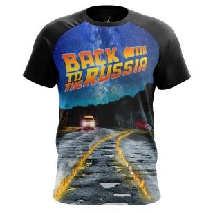 Футболка Back to Russia - купить в teestore. Доставка по РФ