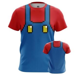 Футболка Mario suit - купить в teestore. Доставка по РФ