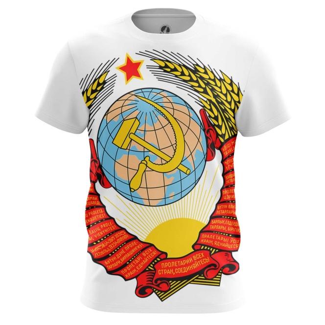 Футболка Герб СССР купить