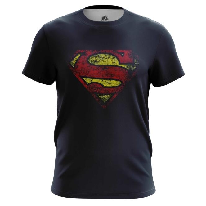 Футболка Супермен логотип - купить в teestore. Доставка по РФ
