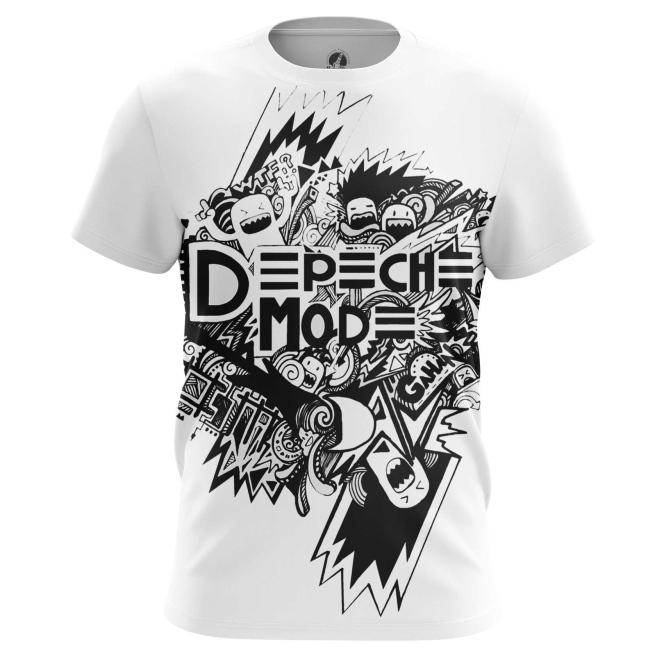 Футболка Depeche Mode ЧБ купить