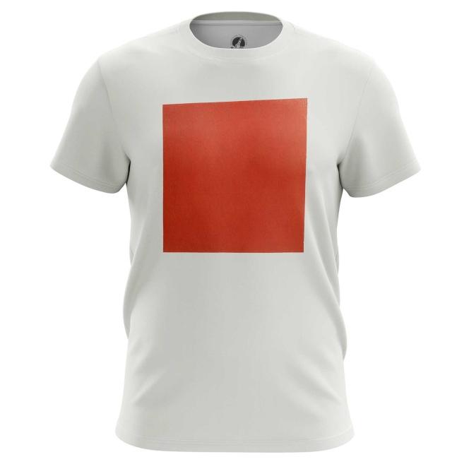 Футболка Красный квадрат купить