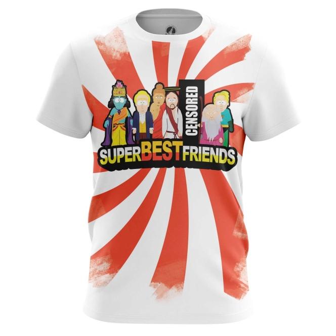 Футболка Super Best Friends - купить в teestore. Доставка по РФ