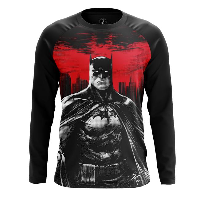 Мужской Лонгслив Бэтмен новый - купить в teestore