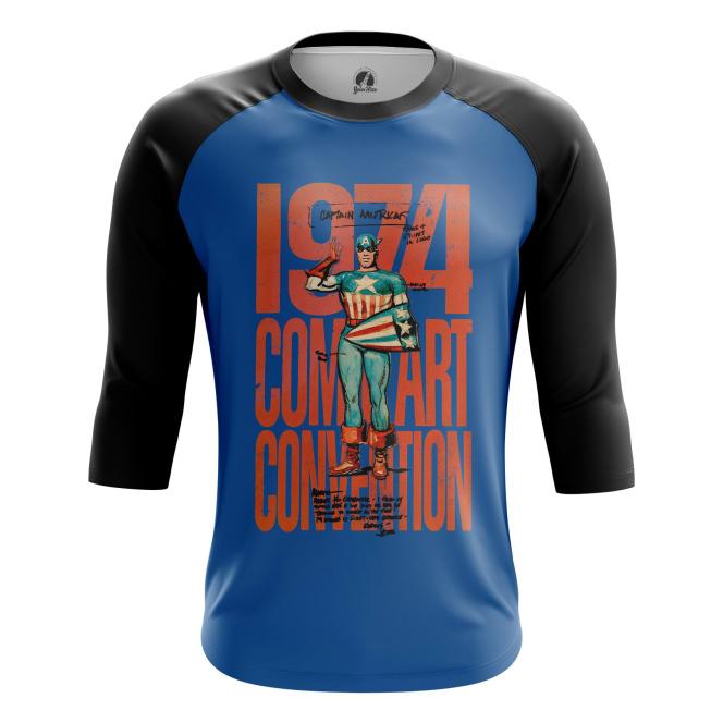 Мужской Реглан 3/4 Combat Convention - купить в teestore