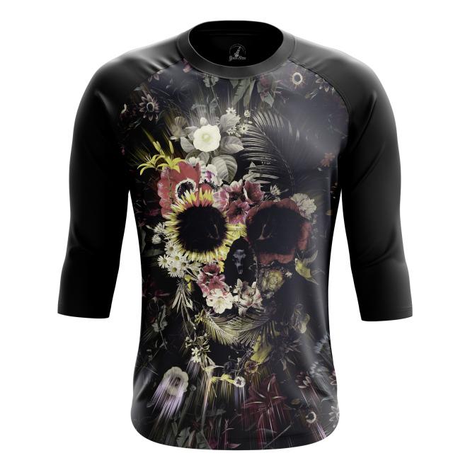 Реглан Floral skull купить