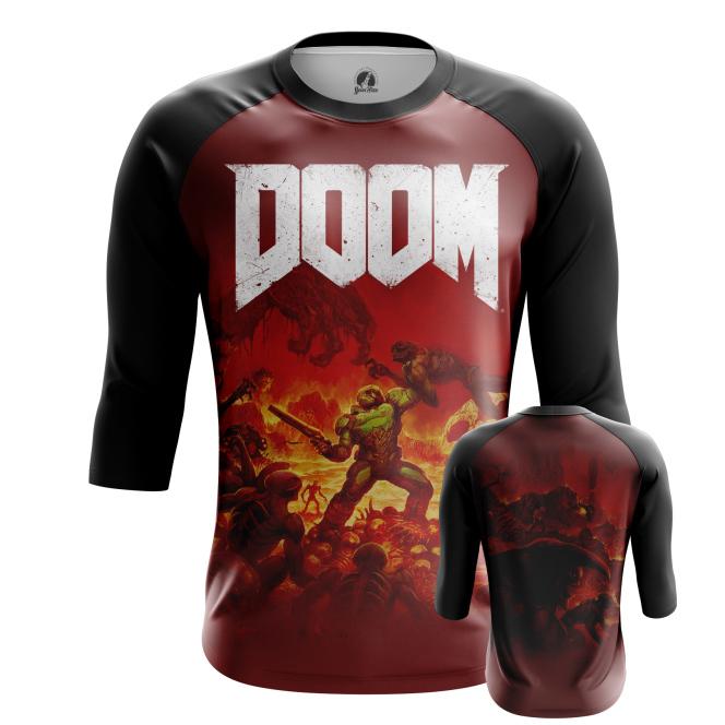 Мужской Реглан 3/4 Doom - купить в teestore