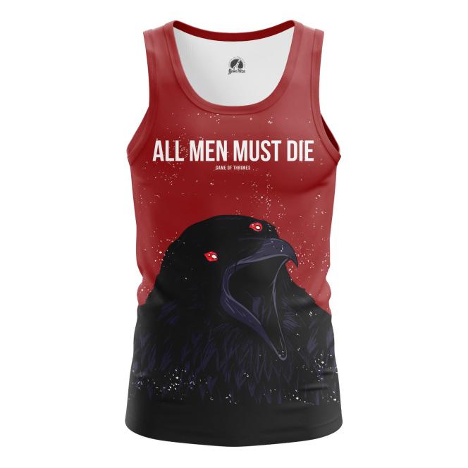 Мужская Майка All men must die - купить в teestore
